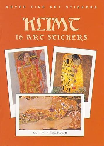 9780486408316: Klimt: 16 Art Stickers (Dover Art Stickers)