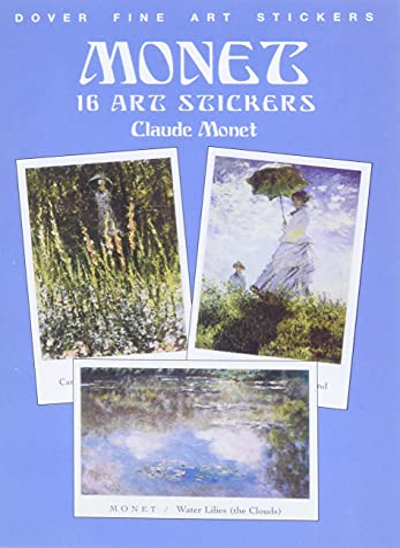 9780486408323: Monet: 16 Art Stickers (Dover Art Stickers)