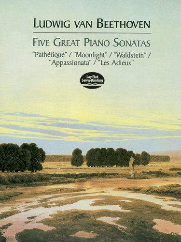 9780486408484: Five Great Piano Sonatas (Dover Music for Piano)