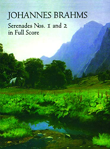9780486408545: Serenades Nos. 1 and 2 in Full Score (Dover Music Scores)