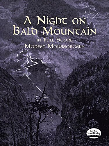 9780486408576: A Night on Bald Mountain in Full Score (Dover Music Scores)