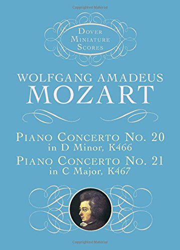 9780486408682: Piano Concerto No. 20, K466, and Piano Concerto No. 21, K467 (Dover Miniature Scores)