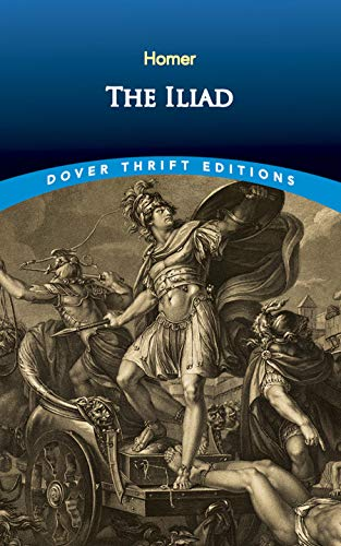 9780486408835: The Iliad (Dover Thrift Editions)