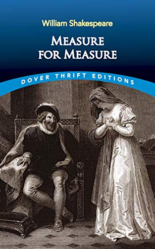 9780486408897: Measure for Measure: Unabridged (Dover Thrift Editions)