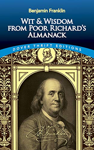 9780486408910: Wit and Wisdom From Poor Richard's Almanack