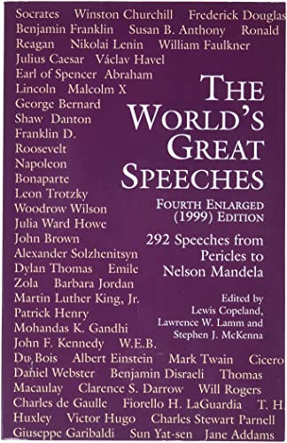 9780486409030: The World's Great Speeches