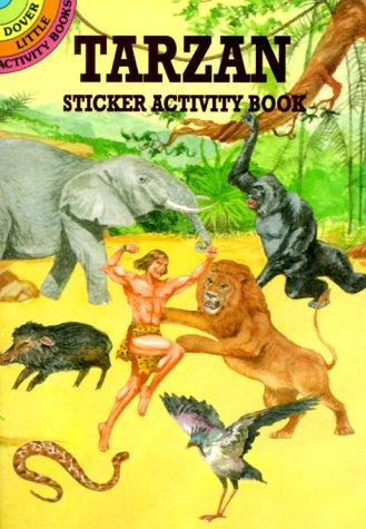 9780486409337: Tarzan Sticker Activity Book (Dover Little Activity Books)