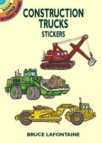 9780486409733: Construction Trucks Stickers (Dover Little Activity Books Stickers)