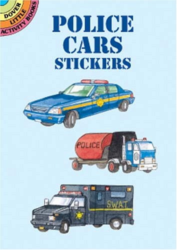 9780486409764: Police Cars Stickers (Dover Little Activity Books)