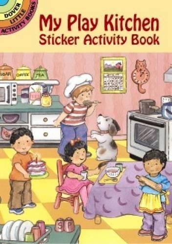 My Play Kitchen Sticker Activity Book