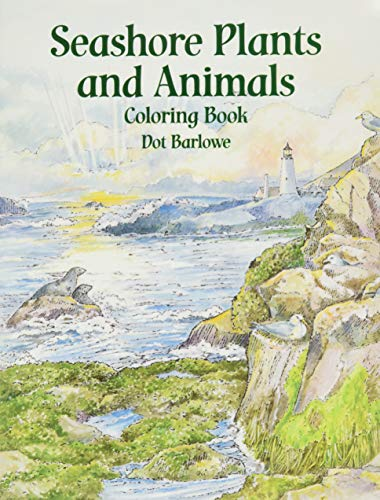 9780486410333: Seashore Plants and Animals Coloring Book (Dover Nature Coloring Book)