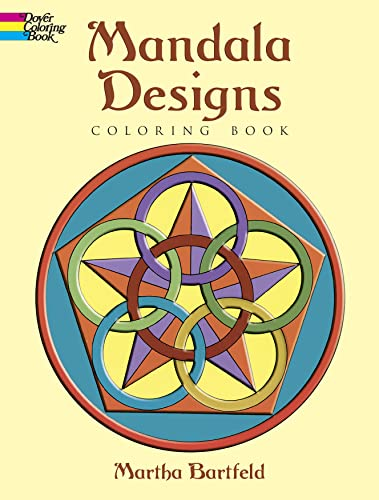 9780486410340: Mandala Designs (Dover Design Coloring Books)