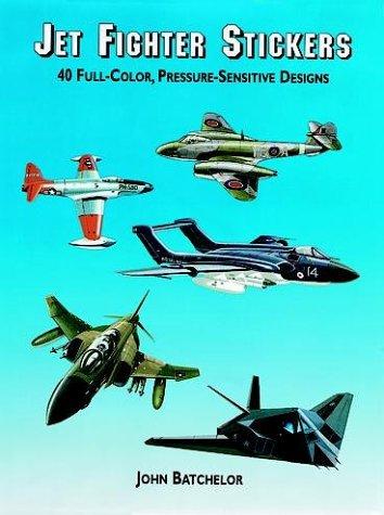 9780486410715: Jet Fighter Stickers