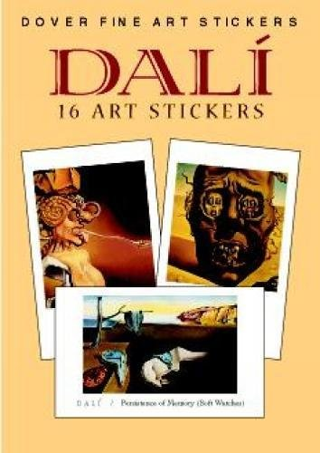 9780486410746: Dali: 16 Art Stickers