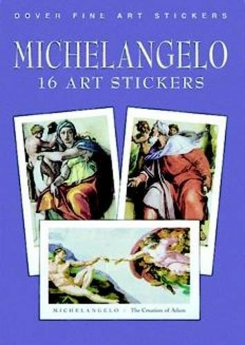 9780486410777: Michelangelo: 16 Art Stickers (Dover Art Stickers)