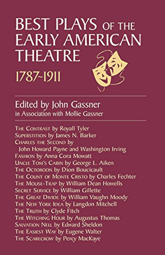 9780486410982: Best Plays of the Early American Theater
