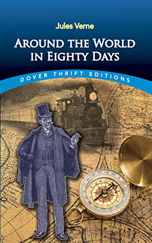 9780486411118: Around the World in Eighty Days (Dover Thrift Editions)