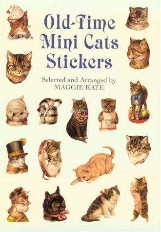 9780486411125: Old-Time Mini Cats Stickers (Pocket-Size Sticker Collections)
