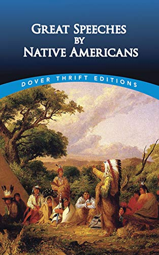 9780486411224: Great Speeches by Native Americans (Dover Thrift Editions)