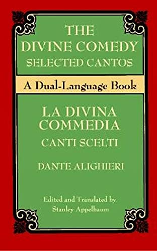 9780486411279: The Divine Comedy Selected Cantos: A Dual-Language Book (Dover Dual Language Italian)
