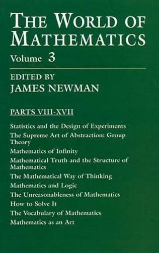 9780486411514: The World of Mathematics, Vol. 3 (Dover Books on Mathematics)