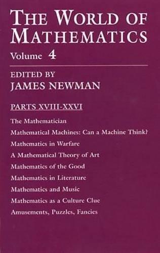 9780486411521: The World of Mathematics, Vol. 4
