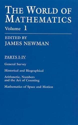 9780486411538: The World of Mathematics, Vol. 1 (Dover Books on Mathematics)