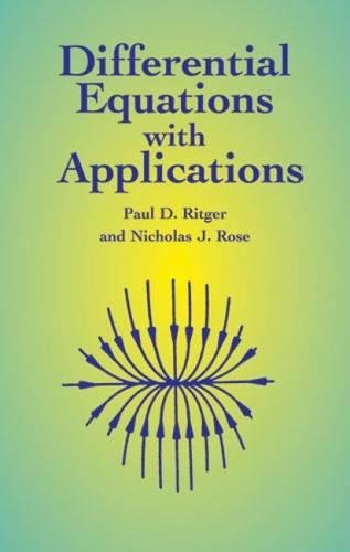 9780486411545: Differential Equations with Applications (Dover Books on Mathematics)