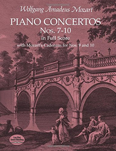 9780486411651: Piano Concertos Nos. 7-10 in Full Score: With Mozart's Cadenzas for Nos. 9 and 10
