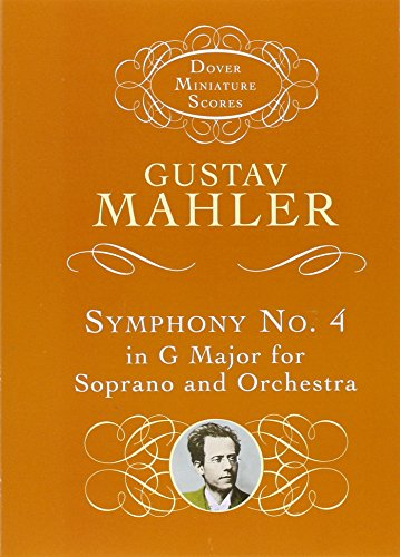 9780486411705: Symphony No. 4 in G Major for Soprano and Orchestra (Dover Miniature Music Scores)