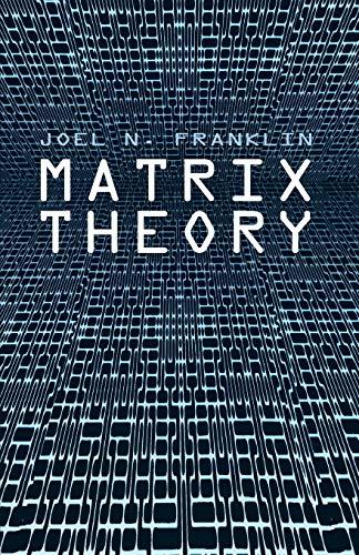 9780486411798: Matrix Theory (Dover Books on Mathematics)