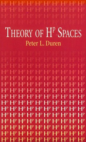 9780486411842: Theory of Hp Spaces