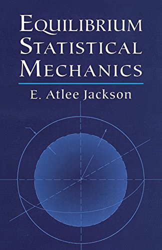 9780486411859: Equilibrium Statistical Mechanics (Dover Books on Physics)
