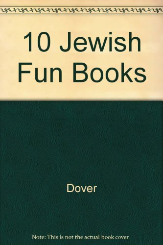 Jewish Fun Books with Sticker and Tattoos and Stencils (0486411885) by Dover; Beylon, Cathy