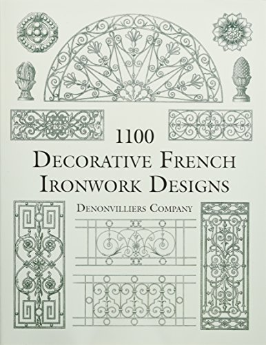 9780486412238: 1100 Decorative French Ironwork Designs (Dover Pictorial Archive)