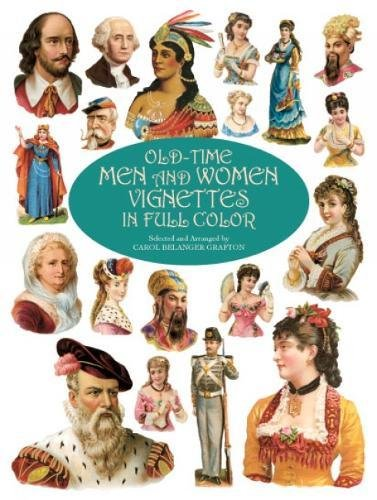 9780486412269: Old-time Men and Women Vignettes in Full Colour (Dover Pictorial Archive)