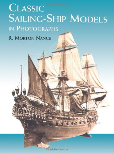 9780486412498: Classic Sailing-Ship Models in Photographs (Dover Maritime)