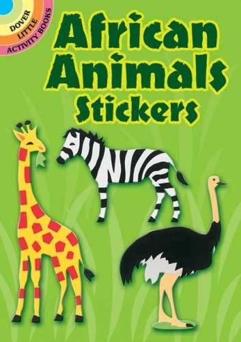 9780486412634: African Animals Stickers (Dover Little Activity Books Stickers)