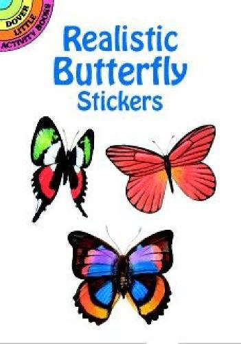 Realistic Butterfly Stickers (Paperback): Jan Sovak
