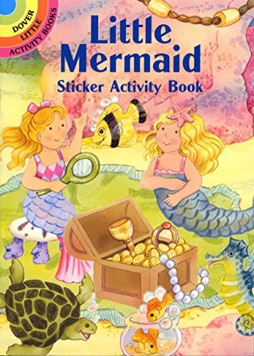 9780486412702: Little Mermaid Sticker Activity Book (Dover Little Activity Books Stickers)