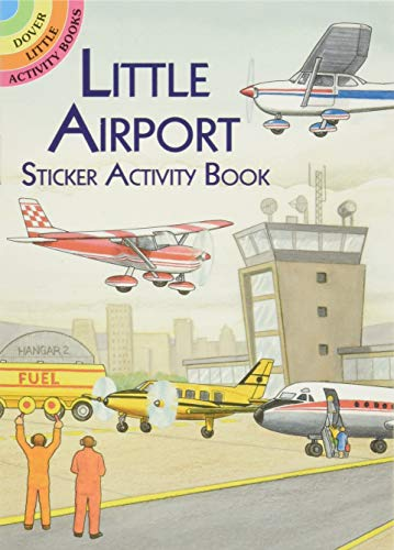 9780486412726: Little Airport Sticker Activity Book (Dover Little Activity Books Stickers)