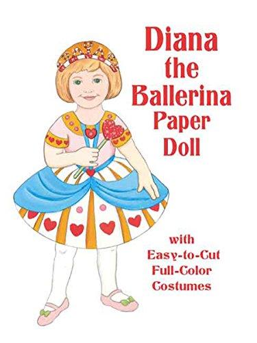 9780486413136: Diana the Ballerina Paper Doll (Dover Paper Dolls)