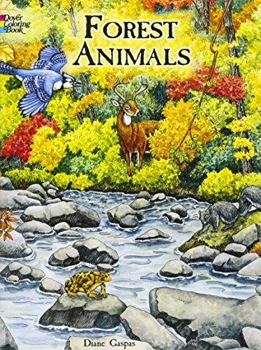 9780486413167: Forest Animals Coloring Book (Dover Nature Coloring Book)