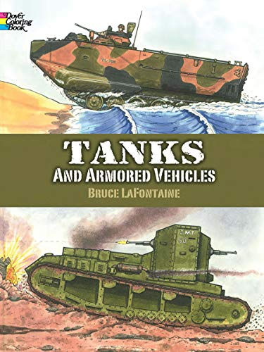 9780486413174: Tanks and Armored Vehicles, Dover Coloring Book