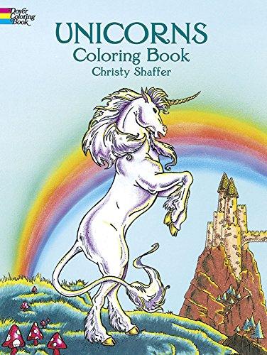 Unicorns Coloring Book Books