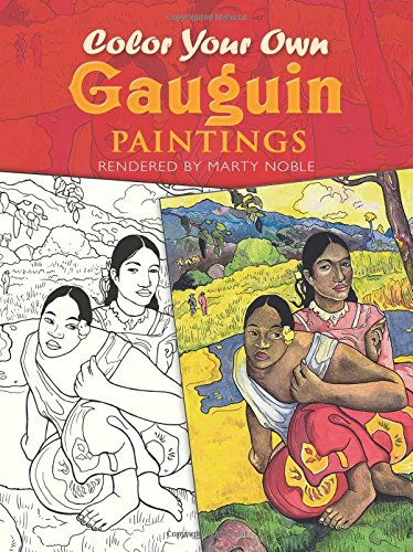 9780486413259: Color Your Own Gauguin Paintings (Dover Art Coloring Book)