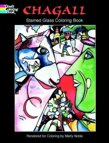 9780486413266: Chagall Stained Glass Coloring Book - AbeBooks - Marc ...