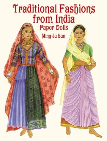 9780486413280: Traditional Fashions from India Paper Dolls
