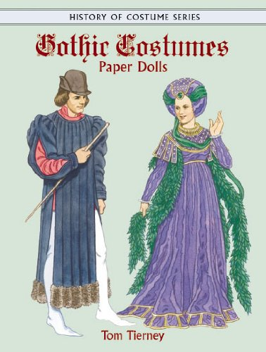 9780486413297: Gothic Costumes Paper Dolls (Dover Paper Dolls)