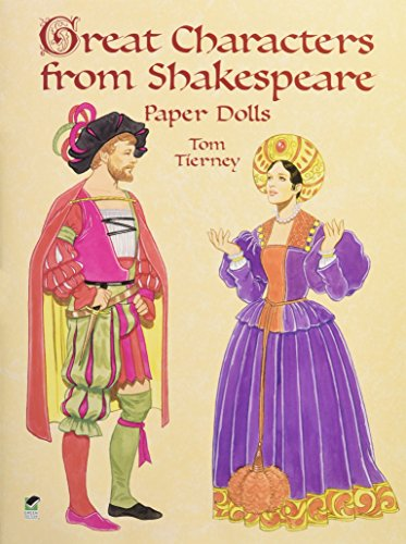 9780486413303: Great Characters from Shakespeare Paper Dolls (Dover Paper Dolls)